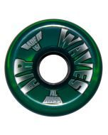 Air Waves Clear Green Wheels 65mm - Set of 4