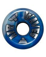 Air Waves White/Blue Swirl Wheels 65mm - Set of 4