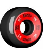 Bones 100's #1 V5 Black Skateboard Wheels - 52mm