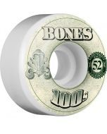 Bones OG 100s #11 V4 Skateboard Wheels - 52mm
