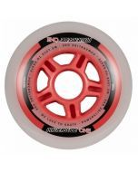Powerslide One Inline Skate Wheels - 90mm 82a Set 4