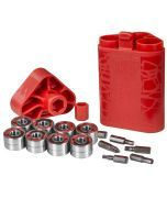 Wicked ILQ 7 Bearings - 16 Pack With Tool Kit
