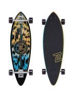 Z-Flex Jungle Acid Mini Pintail Longboard - 32""