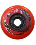 Hyper Concrete G Inline Skate Wheels - Red 4 Pack