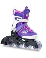 K2 Marlee Pro Adjustable Size Inline Skates - Purple