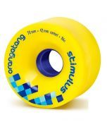 Orangatang Stimulus Longboard Wheels - Yellow 70mm 86a