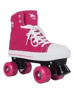 Rookie Canvas High Roller Skates - Pink
