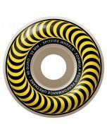 Spitfire Formula Four Classics Yellow Skateboard Wheels - 55mm 99du