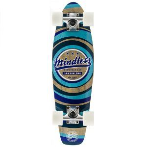"""Mindless Stained Daily II Cruiser Skateboard - Blue 24"""""""