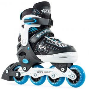 Sfr Pulsar Adjustable Size Inline Skates - Blue