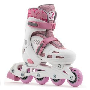 SFR Spirit Pink Adjustable Inline Skates