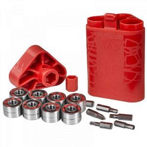 Wicked Abec 7 Bearings - 16 Pack With Tool Kit