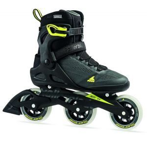 Rollerblade Macroblade 100 3WD Mens Inline Skates - Anthracite/Yellow