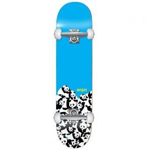 Enjoi Panda Pile Mini Skateboard - 7.0""