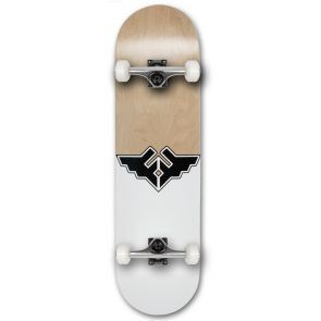 Fracture Wings V1 Grey Skateboard - 8.25""