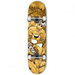 Fracture x Cheo Lion Mini Skateboard - 7.25""