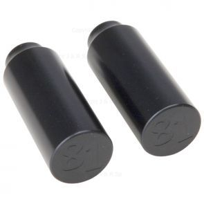 81 Customs Scooter Pegs - Black