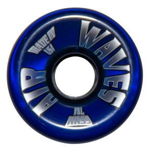 Air Waves Clear Blue Wheels 65mm - Set of 4