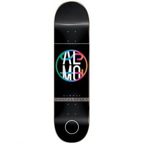 Almost Colour Crash Black Skateboard Deck - 8.0""