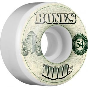 Bones OG 100s #11 V4 Skateboard Wheels - 54mm