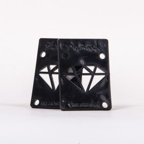 Diamond Supply Co Risers Black - 1/8 Inch