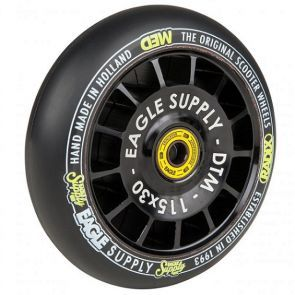 Eagle Radix DTM Hollowtech Medium Scooter Wheel - Black 115mm