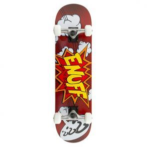 Enuff Pow Complete Skateboard - Red 7.75""