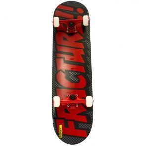 Fracture Comic Series 3 Skateboard Grey/Red - 7.875""