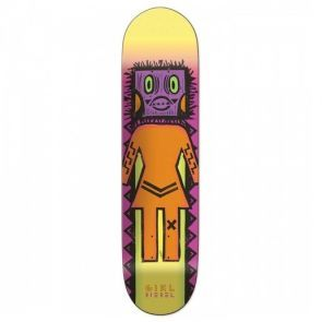 Girl Biebel Tiki OG Skateboard Deck - 8.125