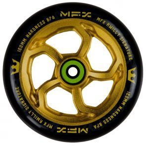 MGP MFX R Willy Hurricane 120mm Scooter Wheel - Ano Gold