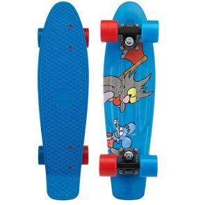 """Penny X Simpsons Itchy And Scratchy Skateboard - 22"""""""