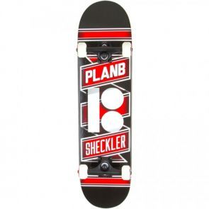 Plan B Sheckler Wrapped Skateboard - 7.75""