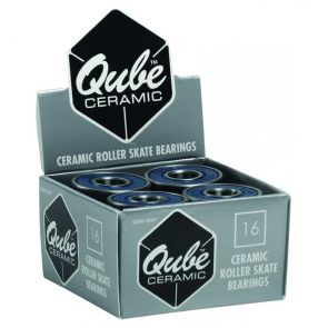 Qube Ceramic Quad Roller Skate Bearings