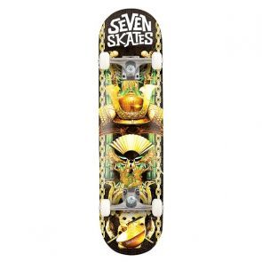Seven Lucky Cat Skateboard - 7.8""