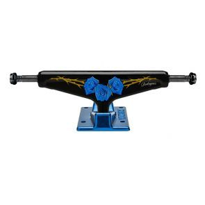 Venture V Hollow Light P-Rod Blue Roses Low Skateboard Trucks - 5.25