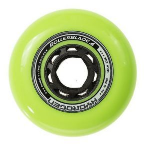 Rollerblade Hydrogen Green Inline Skate Wheels 80mm 85a - Set of 8
