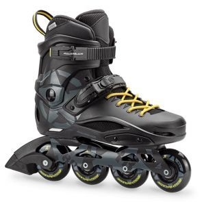 Rollerblade RB 80 Inline Skates - Black/Yellow
