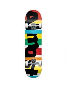 Almost Stripe Out Mid Skateboard - 7.25""