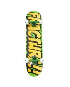 Fracture Comic OG Green Skateboard - 7.5""