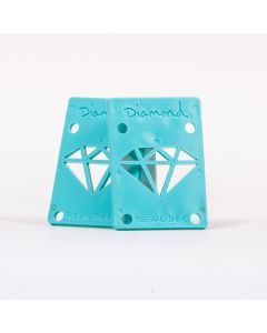 Diamond Supply Co Risers Blue - 1/8 Inch