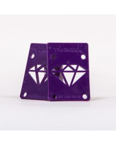 Diamond Supply Co Risers Purple - 1/8 Inch