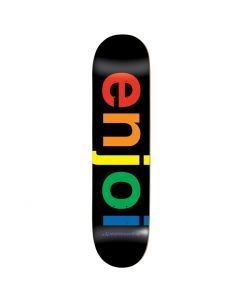 Enjoi Spectrum Black HYB Skateboard Deck - 8.0""