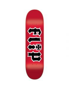 Flip HKD Red Skateboard Deck - 7.5""