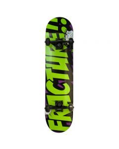 Fracture Comic V2 Purple Complete Skateboard 7.5""