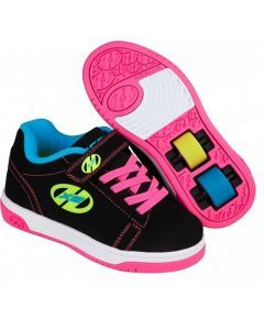 Heelys X2 Dual Up - Black/Neon Multi