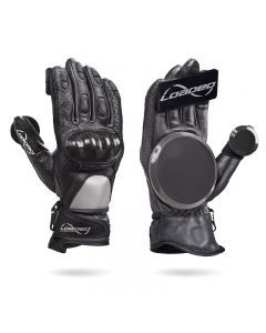 Loaded Leather Race Slide Gloves - S/M