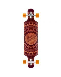 Mindless Sanke II Longboard Brown - 39""