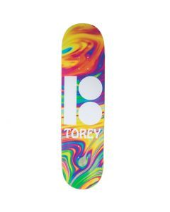 Plan B Pudwill Wavy Blk Ice Skateboard Deck - 8.125""