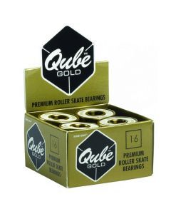 Qube Gold Swiss Quad Roller Skate Bearings