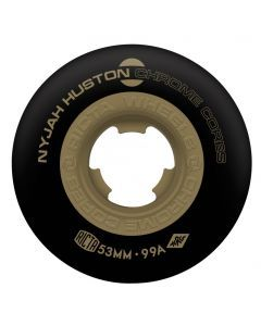 Ricta Nyjah Chrome Cores Black Skateboard Wheels - 53mm 99a